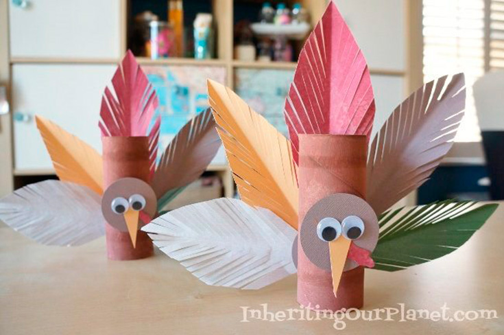 toilet paper roll turkey 5 adorable turkey crafts can make for thanksgiving 5611