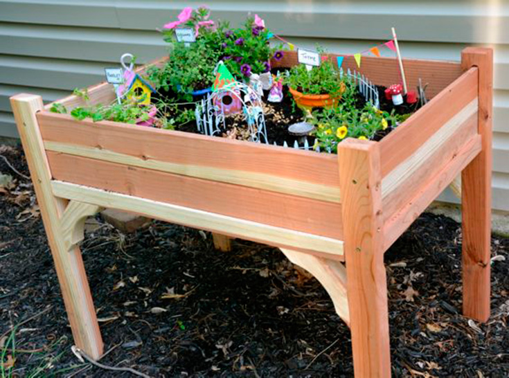 fairy garden ideas kids fairy garden table