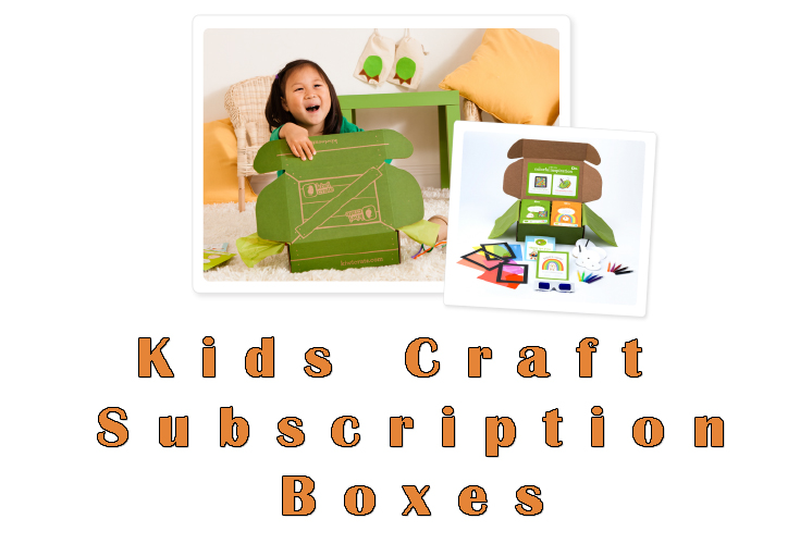 Kids Craft Subscription Boxes