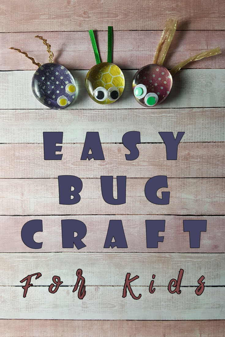 Easy bug craft for kids for Crafts to make for kids
