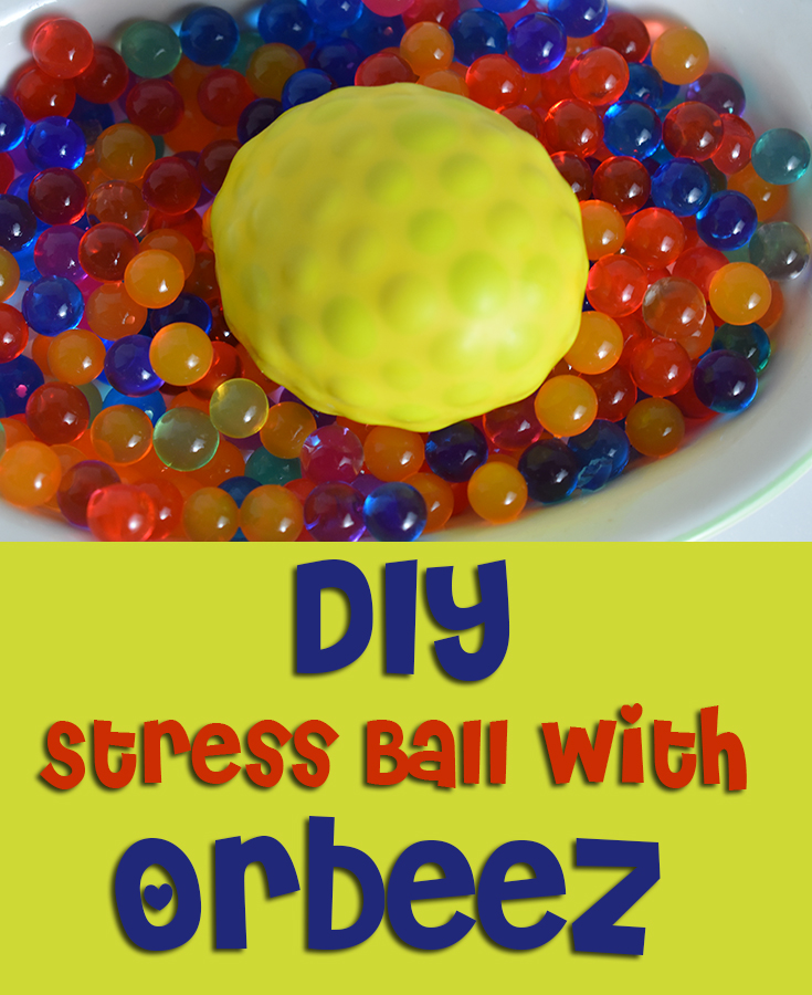 DIY Stress Ball With ORBEEZ